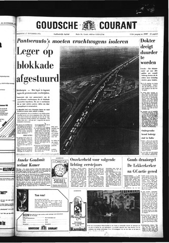 Goudsche Courant 1974-11-27