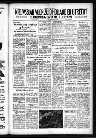 Schoonhovensche Courant 1954-10-11