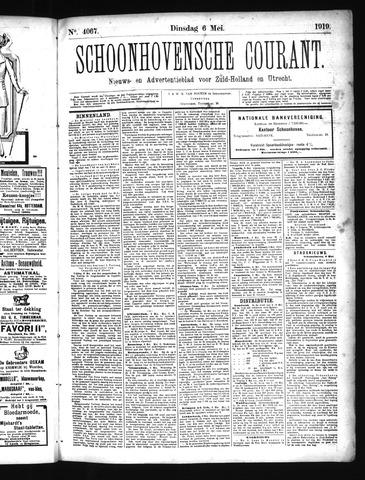 Schoonhovensche Courant 1919-05-06