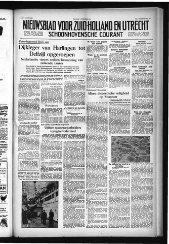 Schoonhovensche Courant 1954-12-06