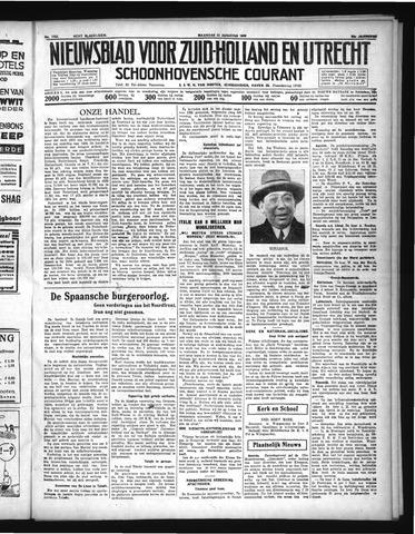 Schoonhovensche Courant 1936-08-31