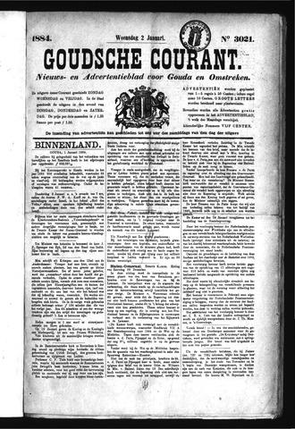 Goudsche Courant 1884