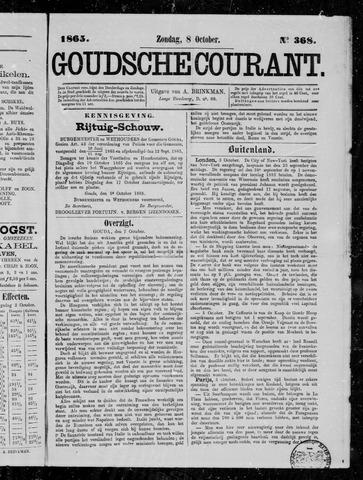 Goudsche Courant 1865-10-08