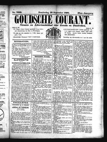 Goudsche Courant 1898-09-29