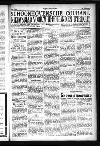 Schoonhovensche Courant 1927-07-29