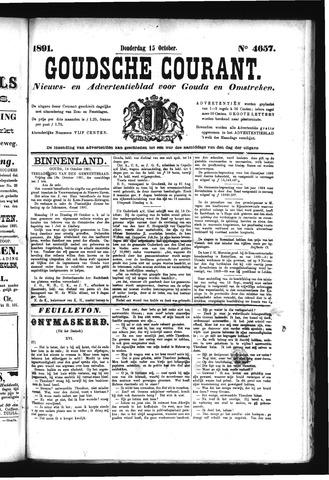 Goudsche Courant 1891-10-15