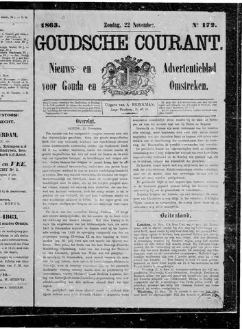 Goudsche Courant 1863-11-22