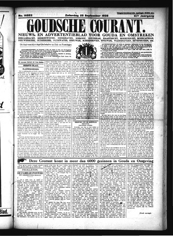 Goudsche Courant 1928-09-29