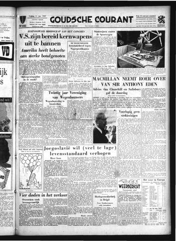 Goudsche Courant 1957-01-11