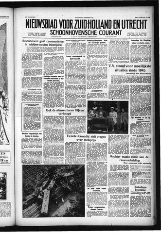 Schoonhovensche Courant 1957-09-09