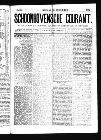 Schoonhovensche Courant 1875-11-28