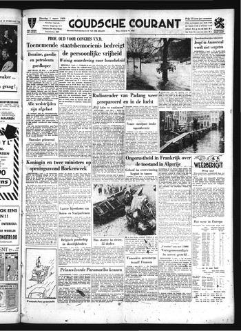 Goudsche Courant 1958-03-01