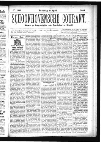 Schoonhovensche Courant 1895-04-27