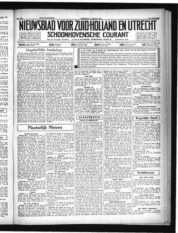 Schoonhovensche Courant 1935-01-09