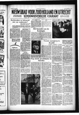 Schoonhovensche Courant 1955-11-23