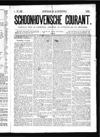 Schoonhovensche Courant 1875-08-15