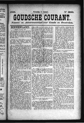 Goudsche Courant 1888-01-11