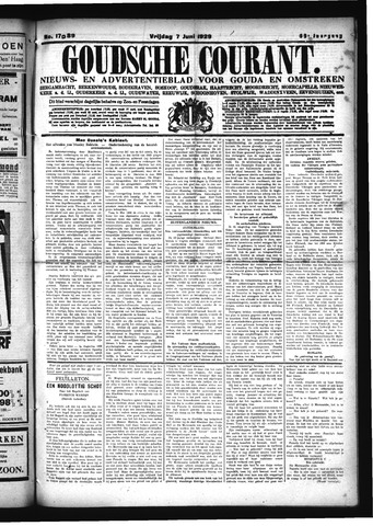 Goudsche Courant 1929-06-07