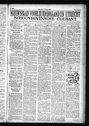 Schoonhovensche Courant 1928-10-10
