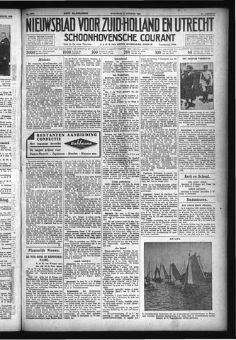 Schoonhovensche Courant 1932-08-10