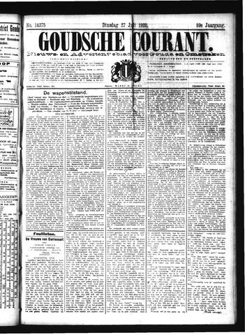 Goudsche Courant 1920-07-27