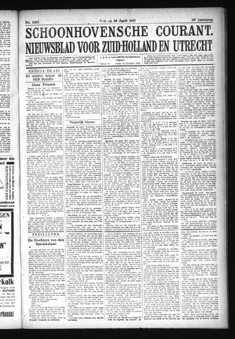 Schoonhovensche Courant 1927-04-29