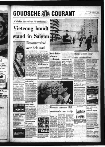 Goudsche Courant 1968-02-01