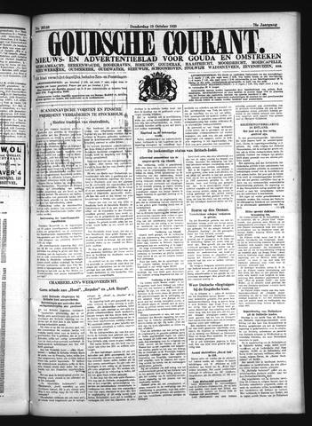 Goudsche Courant 1939-10-19