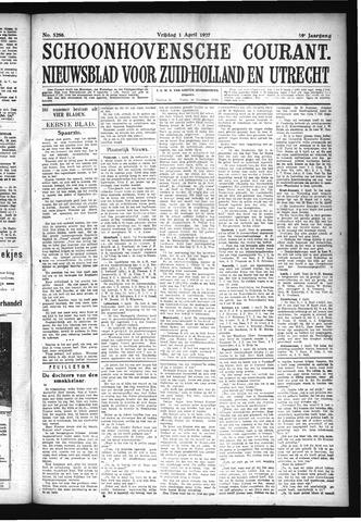 Schoonhovensche Courant 1927-04-01