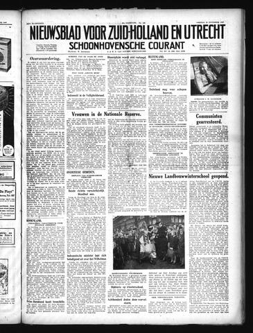 Schoonhovensche Courant 1949-11-18