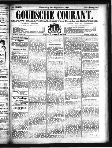 Goudsche Courant 1914-09-30