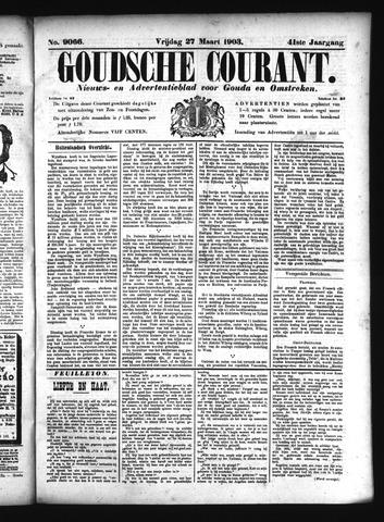 Goudsche Courant 1903-03-27