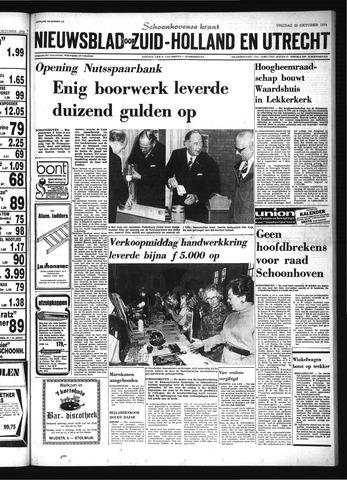 Schoonhovensche Courant 1974-10-25