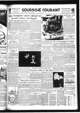 Goudsche Courant 1954-10-27
