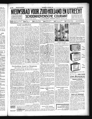 Schoonhovensche Courant 1938-10-26