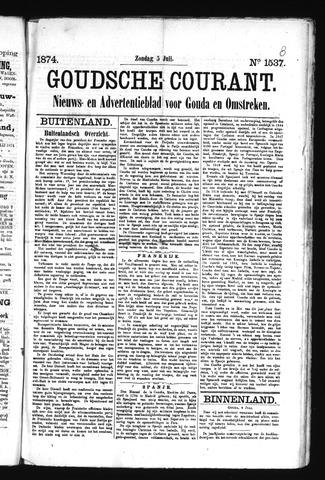 Goudsche Courant 1874-07-05
