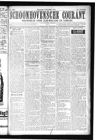 Schoonhovensche Courant 1924-12-08