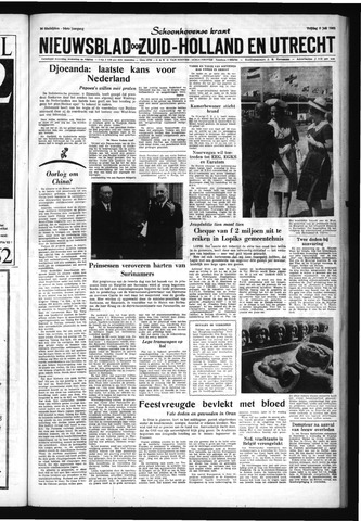 Schoonhovensche Courant 1962-07-06