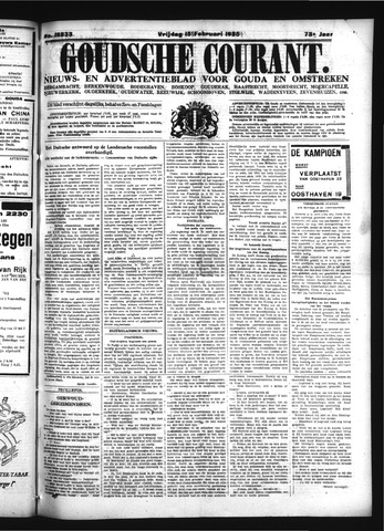 Goudsche Courant 1935-02-15