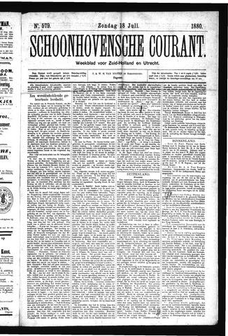 Schoonhovensche Courant 1880-07-18