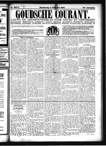 Goudsche Courant 1926-02-11