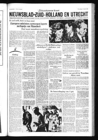Schoonhovensche Courant 1968-03-13