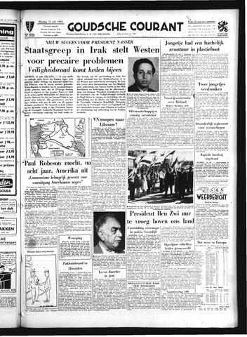Goudsche Courant 1958-07-15