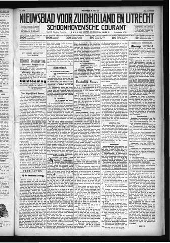 Schoonhovensche Courant 1931-07-29