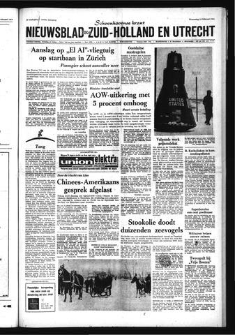 Schoonhovensche Courant 1969-02-19