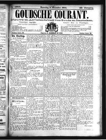 Goudsche Courant 1914-11-09