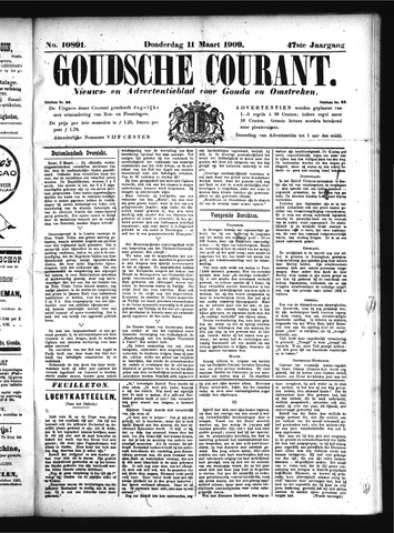 Goudsche Courant 1909-03-11