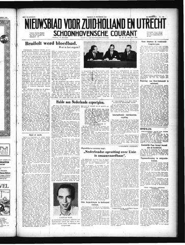 Schoonhovensche Courant 1949-09-16
