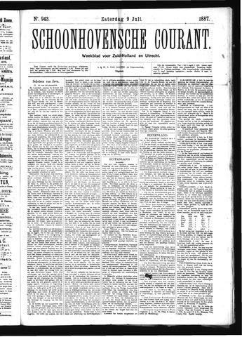 Schoonhovensche Courant 1887-07-09