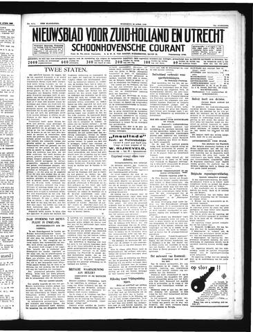 Schoonhovensche Courant 1939-04-26